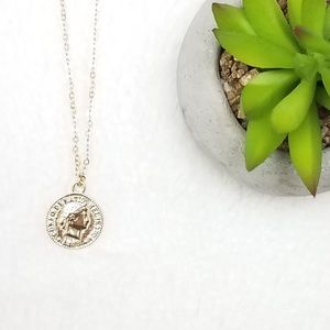 Jewelry - 2/$20 NEW Coin Necklace